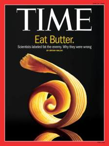 "Butter/a product whose ""time"" has come"