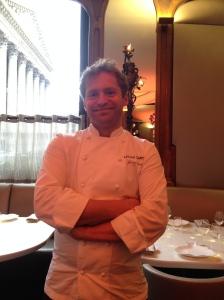 Chef@ Lucas Carton :Julian Dumas